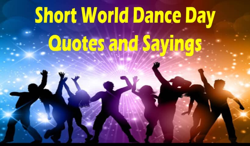 dance day quotes